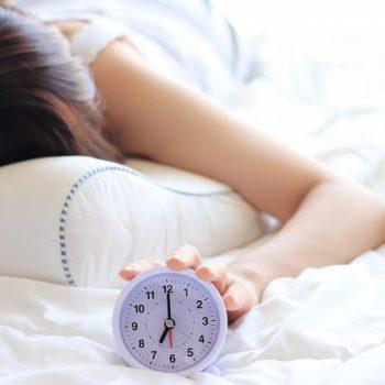 しっかり眠って艶やか髪に♪睡眠不足と髪のかかわり