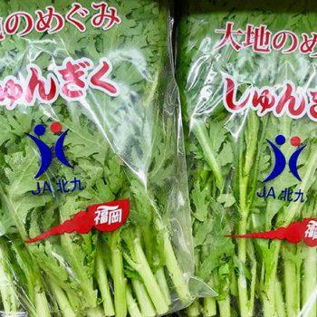 風邪の予防に!北九州のしゅんぎくの栄養と食べ方いろいろ