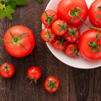 トマトの美容・健康効果とは?吸収の良い食べ方のご紹介